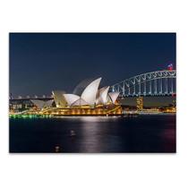 Sydney Opera House at Night Wall Print