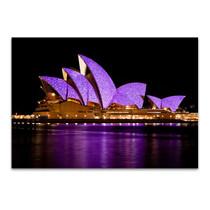 The Opera House at Night Wall Print