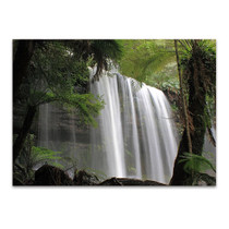 Waterfall Tasmania Australia Wall Art Print