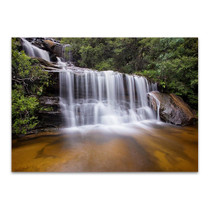 Wentworth Falls Australia Wall Art Print