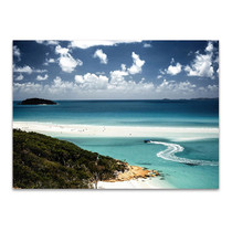 Whitehaven Beach Queensland Wall Print