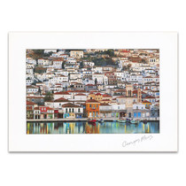 George Meis Greek Island Wall Art Print