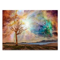 Shining Magical Sky Wall Art Print