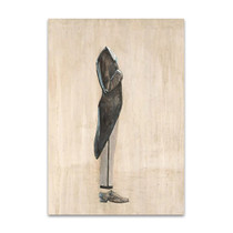 Standing Headless Man Wall Art Print