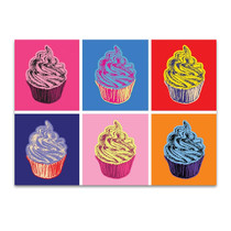 Cupcakes Food Wall Art Print