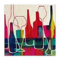 Raise Your Wine Glass Wall Art Print