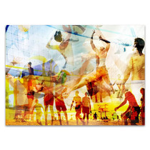 Beach Volleyball II Wall Art Print