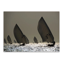Boat Sailing Wall Art Print