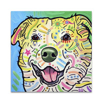 Laughing Labrador Wall Art Print