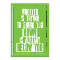 Already Below You Wall Art Print