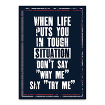 Try Me Wall Art Print