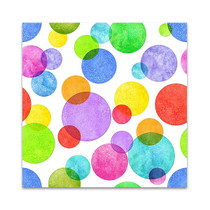 Colourful Bubbles Wall Art Print