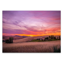 Dramatic Sky Sunset Wall Art Print