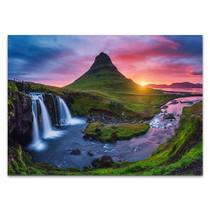 Iceland Kirkjufell Waterfall Wall Print