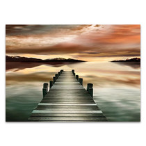 Sunset Jetty Wall Art Print