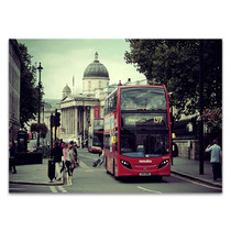 Double Decker Bus London Wall Print