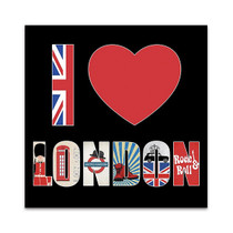 I Love London Wall Art Print