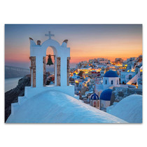 Island of Santorini Greece Wall Print