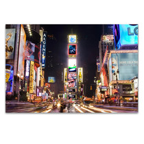 New York City Time Square Wall Art Print