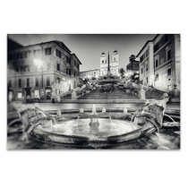 Rome Italy Spanish Steps Wall Print