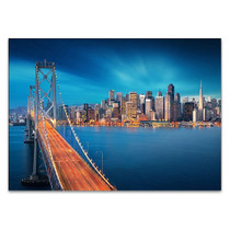 San Francisco Bay Bridge Wall Print
