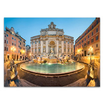 Trevi Fountain Italy Wall Art Print
