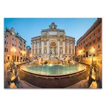 Trevi Fountain Italy Wall Art Print