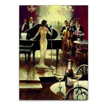 Jazz Band Wall Art Print