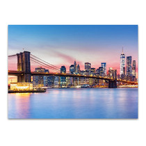 Manhattan Skyline Wall Art Print