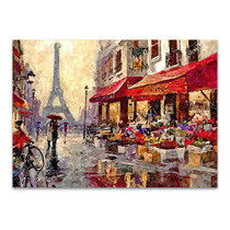 Rainy Morning in Paris Wall Print