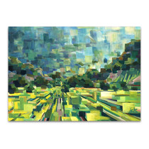 Summer Green Field Wall Print