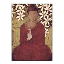 Buddha Enlightment Wall Art Print
