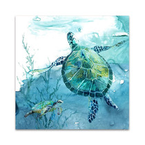 Delray Sea Turtle II Wall Art Print