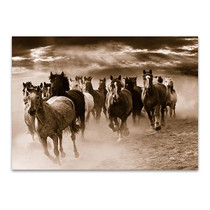Running Horses Wall Art Print