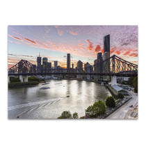 Brisbane Cityscape Wall Art Print