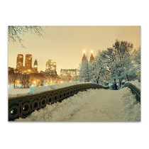 Winter Manhattan New York City Print