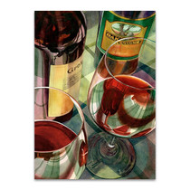Wine Tasting Wall Art Print