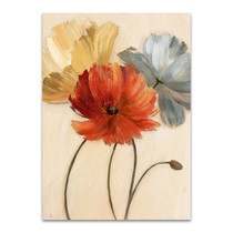 Poppy Palette I Wall Art Print