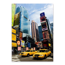 New York City Cab Wall Art Print
