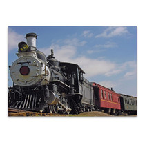 Old Steam Train Wall Art Print