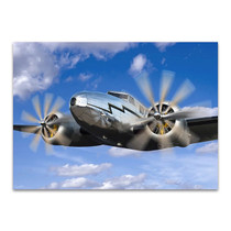 The Vintage Plane Wall Art Print