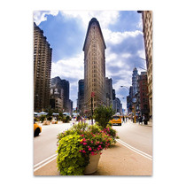 Flatiron Building USA Wall Print