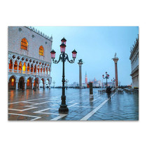 San Marco Square Venice Wall Print