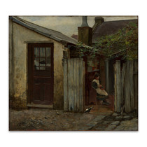 McCubbin | Girl with Bird at the King Street Bakery
