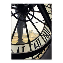 Clock of Orsay Museum I Wall Print