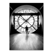 Clock of Orsay Museum II Wall Print