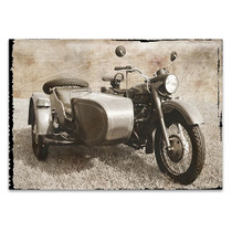 Ural Motorcycle I Wall Art Print