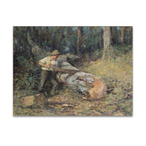 McCubbin | Sawing Timber