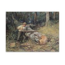 McCubbin | Sawing Timber
