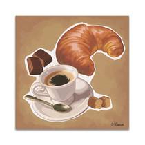 A Croissant Wall Art Print